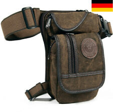 Herren Reise Wandern Taktische Hüft Bauch Gürtel Motorrad Bein Tasche Leg Bag