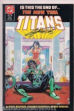 The New Teen Titans #19 Nightwing Signed by George Perez W/COA (1986, DC)