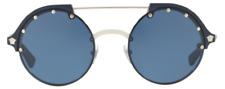 Versace Damen Herren Sonnenbrille VE4337 5251/80 53mm silber blau LN162084/DU1 H