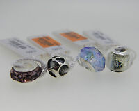 NEW PERSONA LOT OF 4 STERLING SILVER CHARMS WITH TAGS  RETAIL IS $125