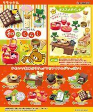 Re-Ment Miniature Sanrio San X Rilakkuma Japanese Life Full Set of 8 pcs