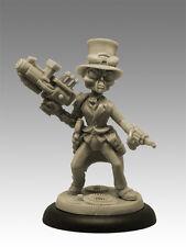 Steampunk Alien Gris 35mm Resina Negro Sol Miniatures