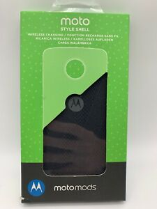 Motorola Moto Mod - Moto Style Shell with Wireless Charging - New in Sealed Box