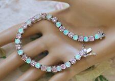 Vintage Jewellery Tennis Chain Bracelet Dress Antique Jewelry 18.5cm Long
