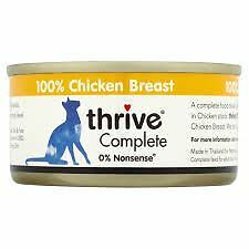 Thrive Complete 100% - Cat Food Tin - Chicken Breast - 12 x 75g