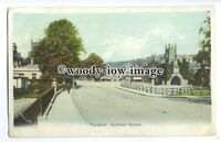 tq0608 - Devon - An Early View of the Guildhall Square, in Tavistock - Postcard
