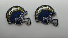 NFL LOT 2 LOS ANGELES CHARGERS JERSEY SHIRT JACKET HOODIE SCRUBS FOOTBALL PATCH