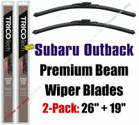 fit 2000-2004 Subaru Legacy 19220//200 Wipers 2-Pack Premium Wiper Beam Blades