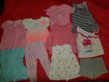 Baby girl infant carters circo bodysuit shirt  leggings shorts 18 months 24m