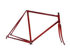 Reynolds 531c 28/700c 55 cm Road Racing Vintage Bicycle Steel Red Frame