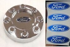 "4pc FORD F-250 F-350 Center Cap Wheel Hub Logo Decal Stickers Emblem 2.5"" x 1"""