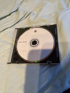 Apple Mac iPod + iTunes Application Install Disc Cd 2005