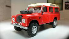 Oxford Cararama 1:43 Modelo a escala Land Rover Serie 2a 3 109 LWB Carga Wagon