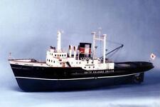 "Genuine, imported Saito RC model ship kit: the ""Chiba Star"" -steam powered tug!"