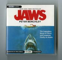 Jaws: by Peter Benchley - Audiobook 8CDs