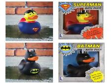 Batman Or Superman Bath Rubber Ducks, Funky Bath Toy DC Comics Novelty Bath  Gift