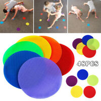 48pcs Multi-color Mat Classroom Magic Mark Sitting Carpet Spots Children Fun Toy
