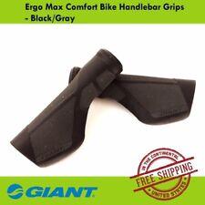 Giant Ergo Max Comfort Bike Handlebar Grips Hybrid Commuter MTB- Black/Gray