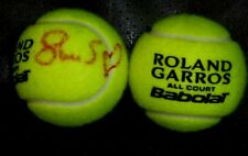 SLOANE STEPHENS  AUTOGRAPHED FRENCH OPEN/ROLAND GARROS TENNIS BALL