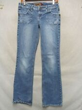 D7475 Mudd Stretch Killer Fade Boot Cut Jeans Women's 29x31