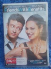 FRIENDS WITH BENEFITS JUSTINE TIMBERLAKE,MILA KUNIS DVD MA R4
