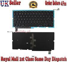 "Genuine Macbook Pro15"" A1286 UK laptop Keyboard with backlit 2009 - 2012"