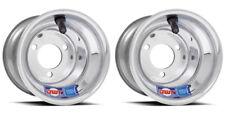 """DWT Polished Aluminum 8""""  8x6 Front or Rear Wheels Rims Suzuki LT80"""