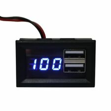 12V Battery Capacity Indicator Voltage Gauge Power Meter with QC Charge Output