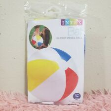 Intex Inflatable Glossy Panel Beach Ball 20in