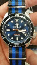 BRAND NEW DEEP BLUE DIVER 3000 AUTOMATIC  DIVER BLACK BEZEL/ BLUE DIAL.