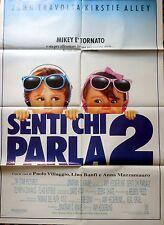 manifesto movie poster 2F Senti chi parla 2 Heckerling travolta john