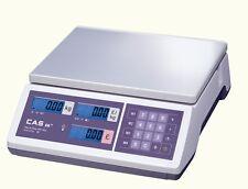 CAS 15Kg x 5g Digital Retail Butcher/Veg Shop Scale 100% Legal TRADE APPROVED