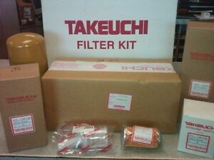 "TAKEUCHI TL140 ANNUAL FILTER KIT # 1909914010 - ""OEM"""