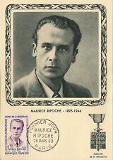 CP MAXIMUM PREMIER JOUR MAURICE RIPOCHE 1960
