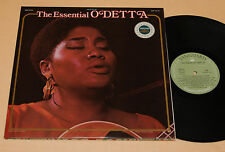 ODETTA:2LP-THE ESSENTIAL-TOP JAZZ 1°ST GATEFOLD EX++