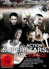 Action Superstars Box (2DVDs) -Chuck Norris,Sylvester Stallone,Jet Li...