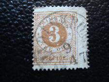 SUEDE - timbre yvert et tellier n° 16A obl (A9) stamp sweden