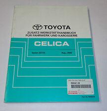 Werkstatthandbuch Toyota Celica Karosserie / Fahrwerk / Bremsen, Stand 08/2002