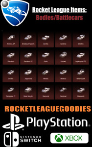 Rocket League Items - Bodies/Battlecar - PS4 - PS5 - XBOX ONE - Switch