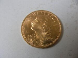 Schweiz - 20 Franken - 1947 - Vreneli - Bankenüblich - 5,81 Gramm  Feingold