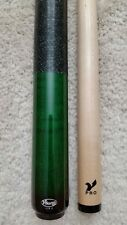 IN STOCK, Viking A231 Green Pool Cue w/ V PRO Shaft, FREE HARD CASE
