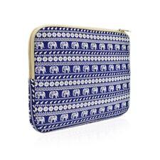 UNIK CASE- Elephant Blue Bohemian Laptop Sleeve Bag for All 13-Inch Laptop