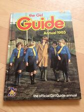 THE GIRL GUIDE ANNUAL 1985. PENNY MORRIS. 723567131