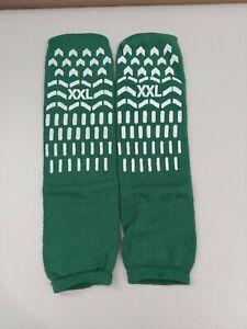 Two Pair French Terry Non Slip Socks. XXL