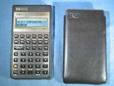 Hewlett Packard HP17Bii Business Financial Calculator in Case 1987 Works