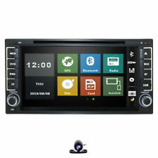 Head Unit DAB+ For Toyota Universal Car Stereo Radio GPS Navi BT DVD MP3 SD RDS
