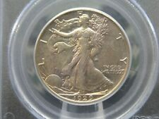 """1929 """"S"""" Walking Liberty Half Dollar 50c PCGS AU50 East Coast Coin & Collectable"""