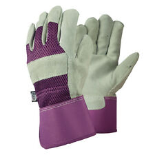 Briers Ladies Rigger Lavender Gloves Medium