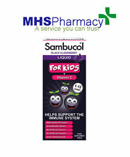 Sambucol 120ml Black Elderberry Liquid Extract for Kids