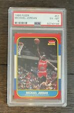 1986 Fleer Michael Jordan Rookie RC PSA 6 (previously BGS 7.5)